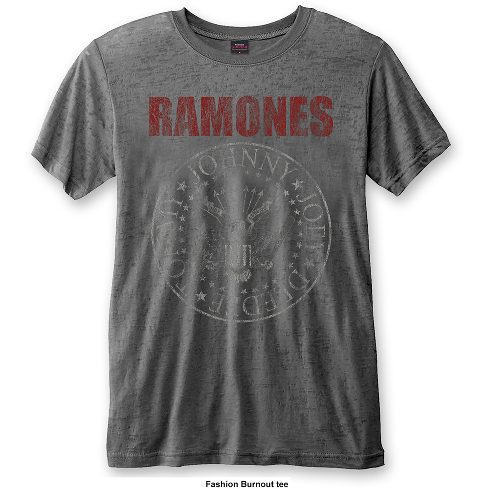 Ramones - Presidential Seal Burnout (Charcoal)