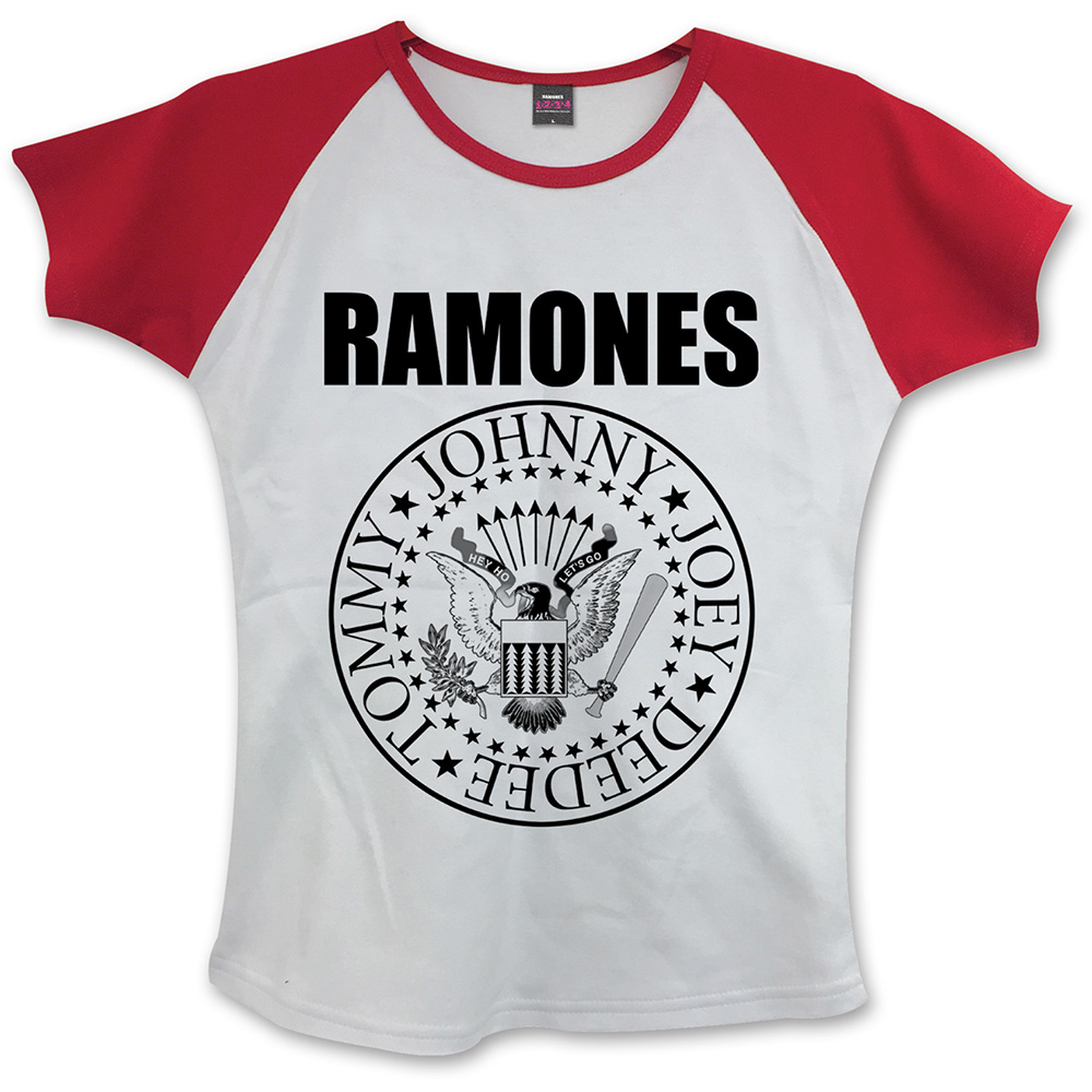 Ramones - Presidential Seal (Women's) (White/Red)