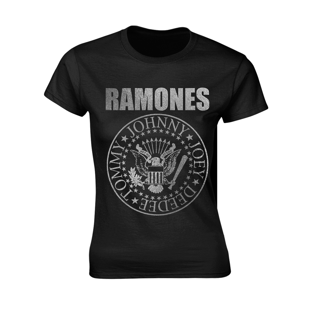 Ramones - Metallic Ink Seal (Ladies)