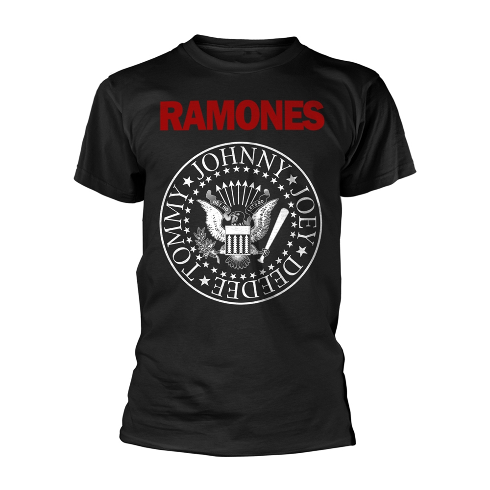 Ramones - Red Text Seal Logo