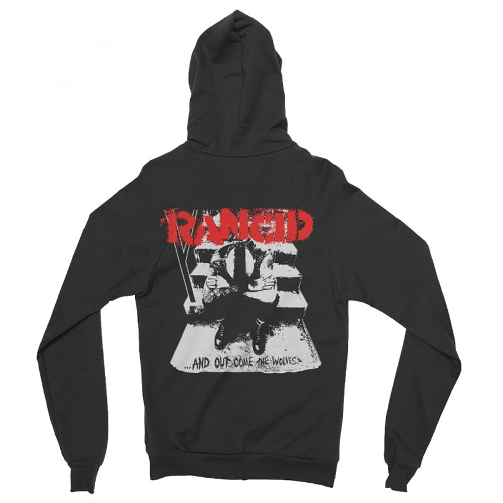 Rancid - And Out Come The Wolves (Zip Hoodie)