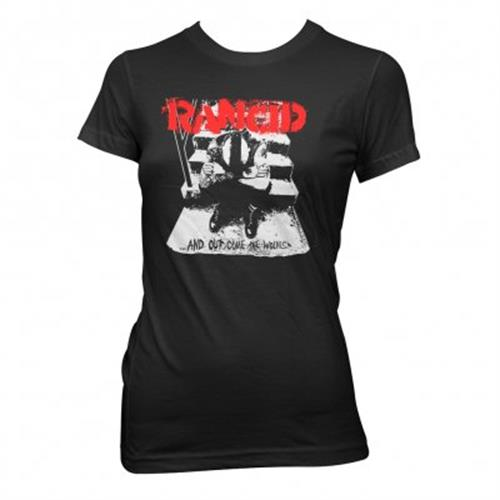 Rancid - And Out Come The Wolves (Women's) (Black)