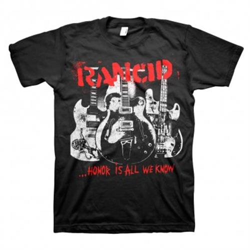 Rancid - Honor Is All We Know (Black)