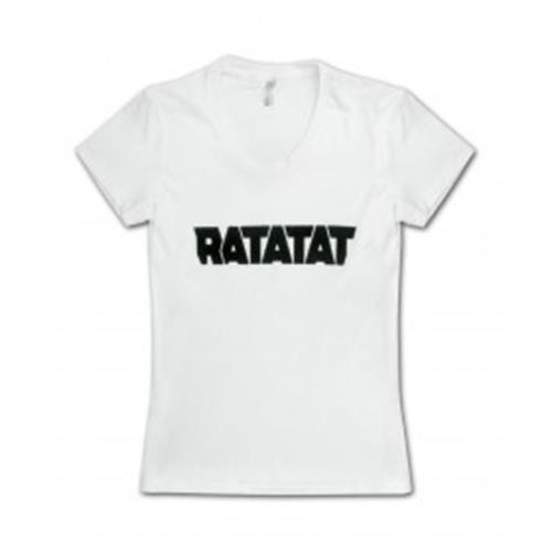 Ratatat - Solid Black Logo On White