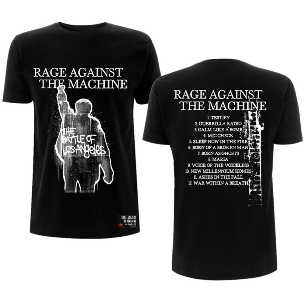 Rage Against The Machine - BOLA Album Cover (Back Print)