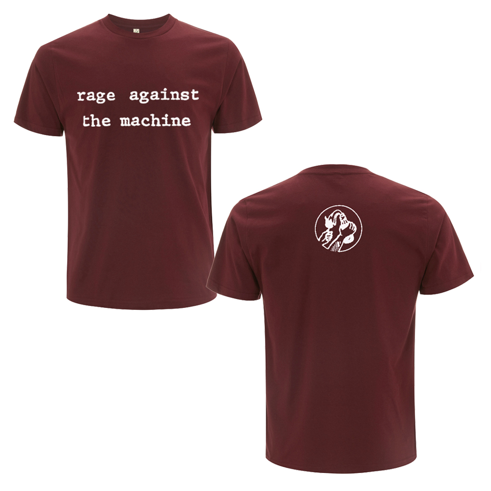 Rage Against The Machine - Logo Molotov Maroon