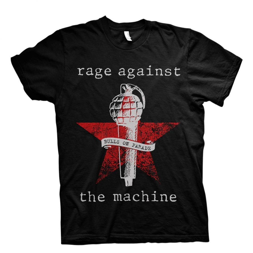 Rage Against The Machine - Bulls On Parade Mic Black