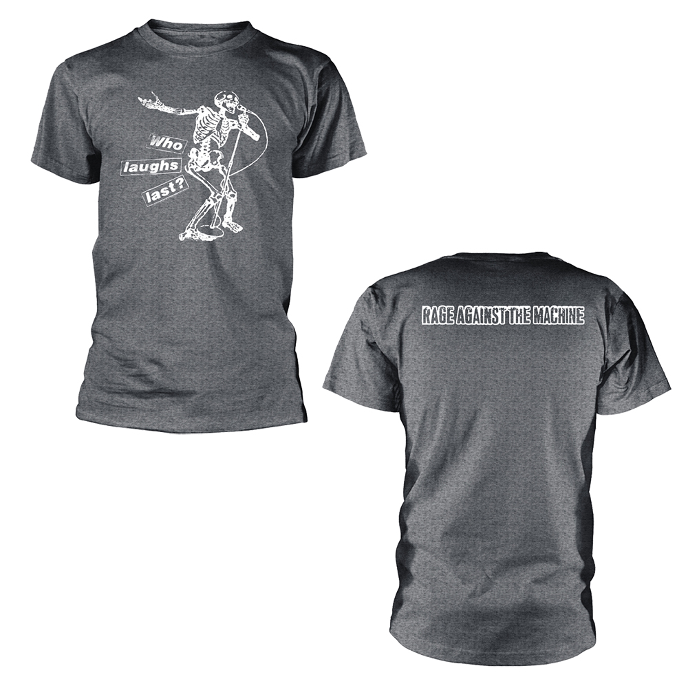 Rage Against The Machine - Who Laughs Last (Grey)