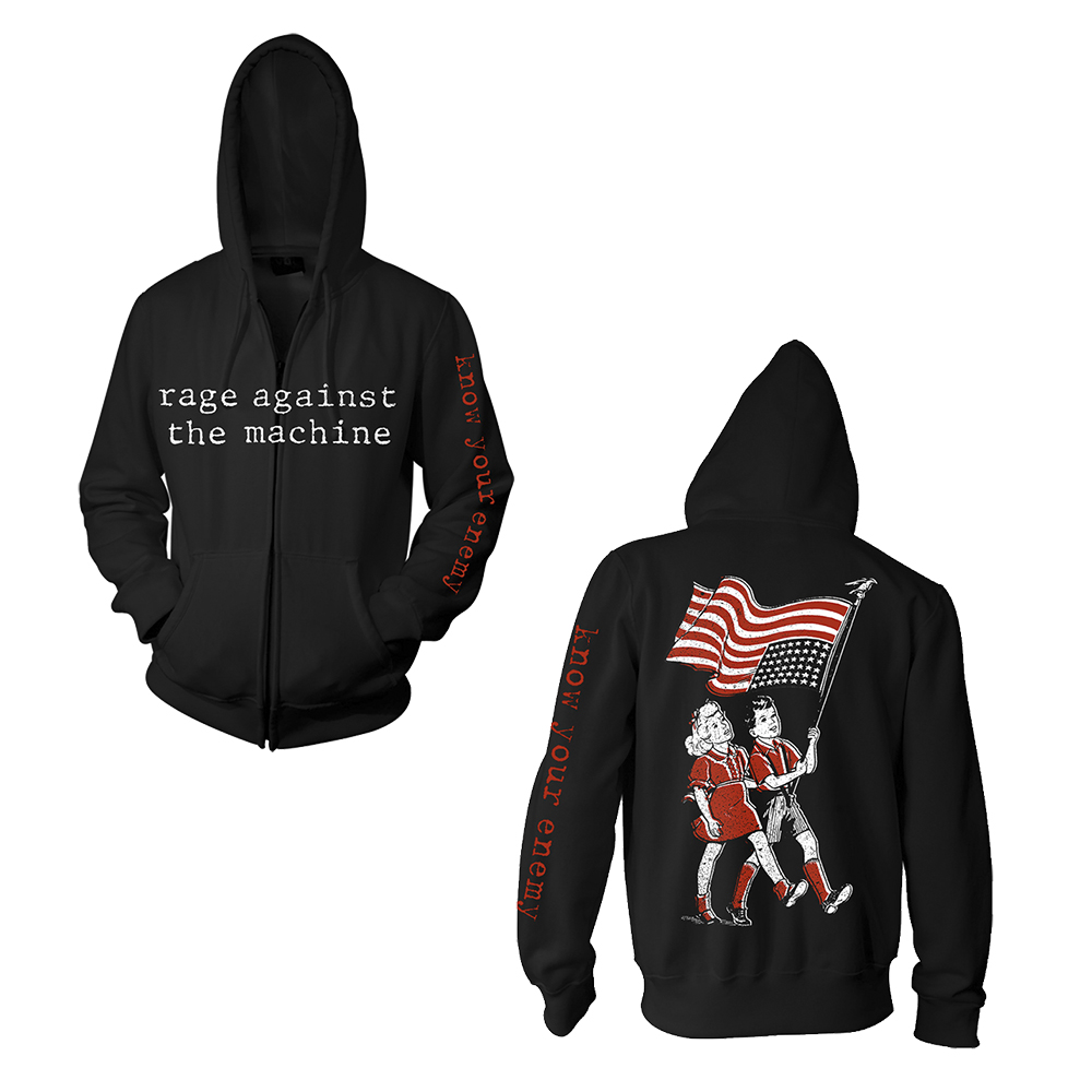 Rage Against The Machine - Know Your Enemy (Black Zip Hoodie)