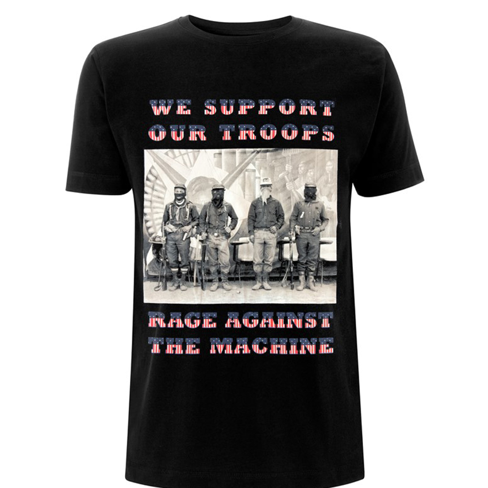 Rage Against The Machine -  We Support Our Troops (Black)