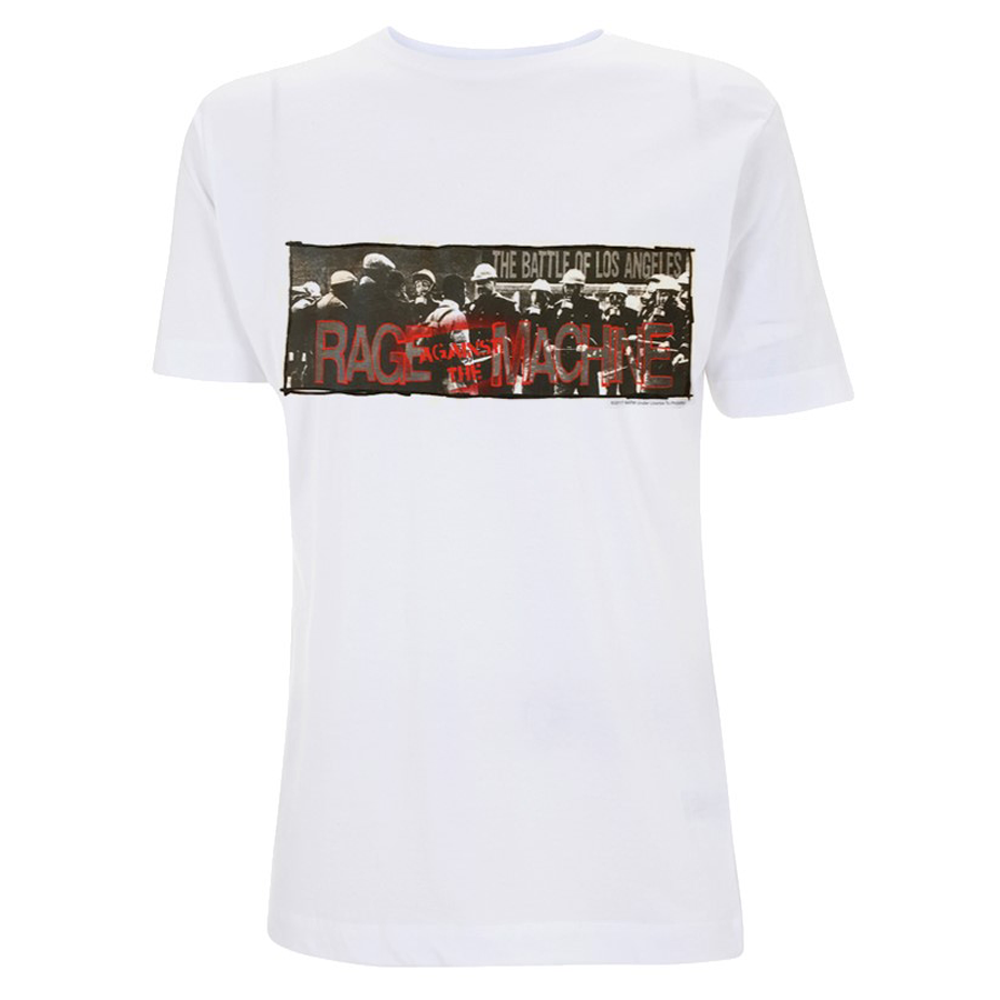 Rage Against The Machine - Riot Police (White)