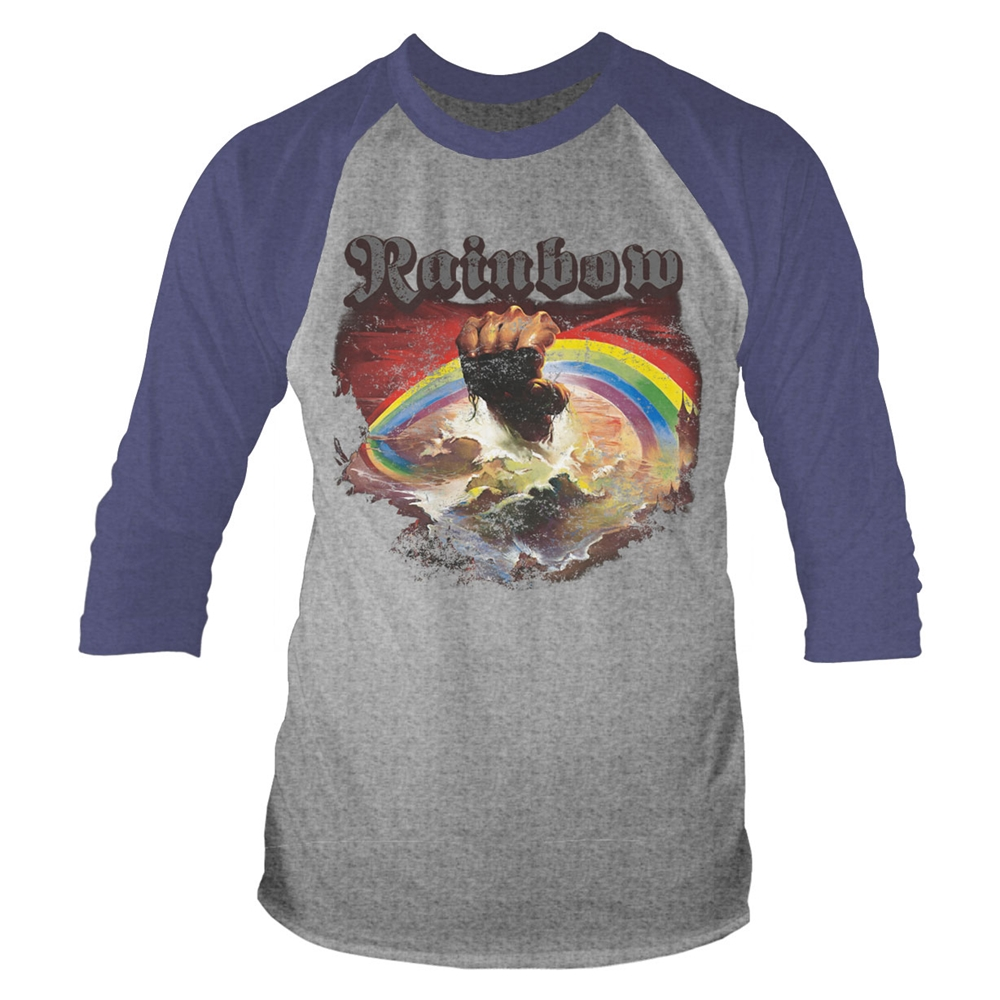 Rainbow - Rising Distressed (Tour 2017) (Grey)
