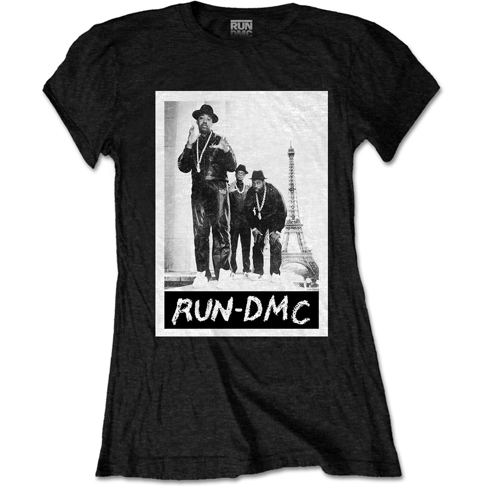 Run-DMC - Paris Photo (Black) (Women's)