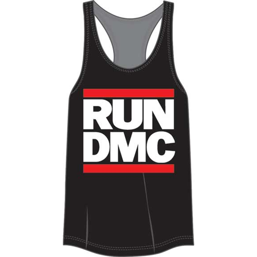 Run-DMC - Logo Racerback Tank (Girls)