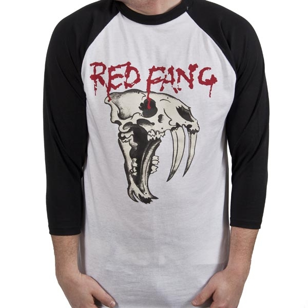 Red Fang - Fang (White and black)