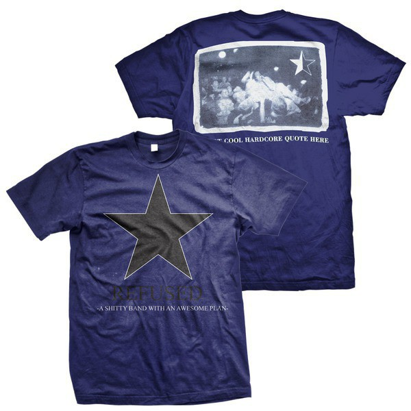 Refused - Live Star (Blue)