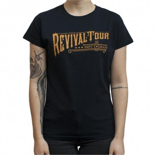 Revival Tour - Text (Women's) (Black)