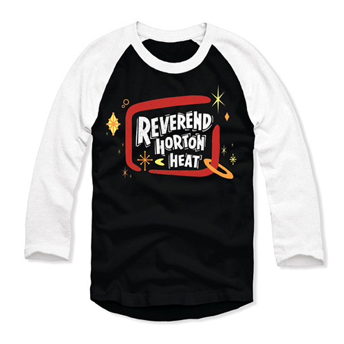 Reverend Horton Heat - Reverend Horton Heat Logo (Baseball T-Shirt)