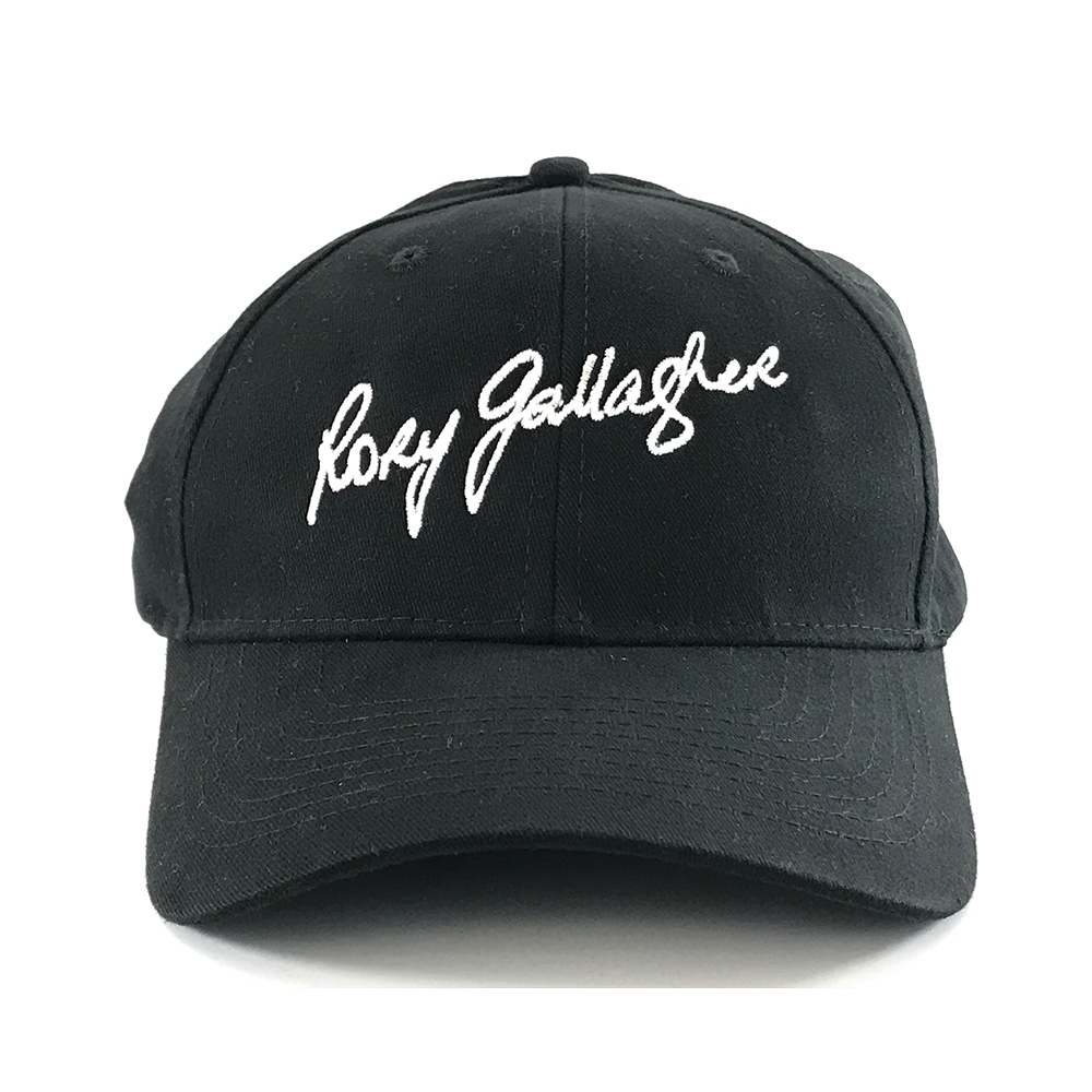 Rory Gallagher - Signature Embroidered Cap (Black)