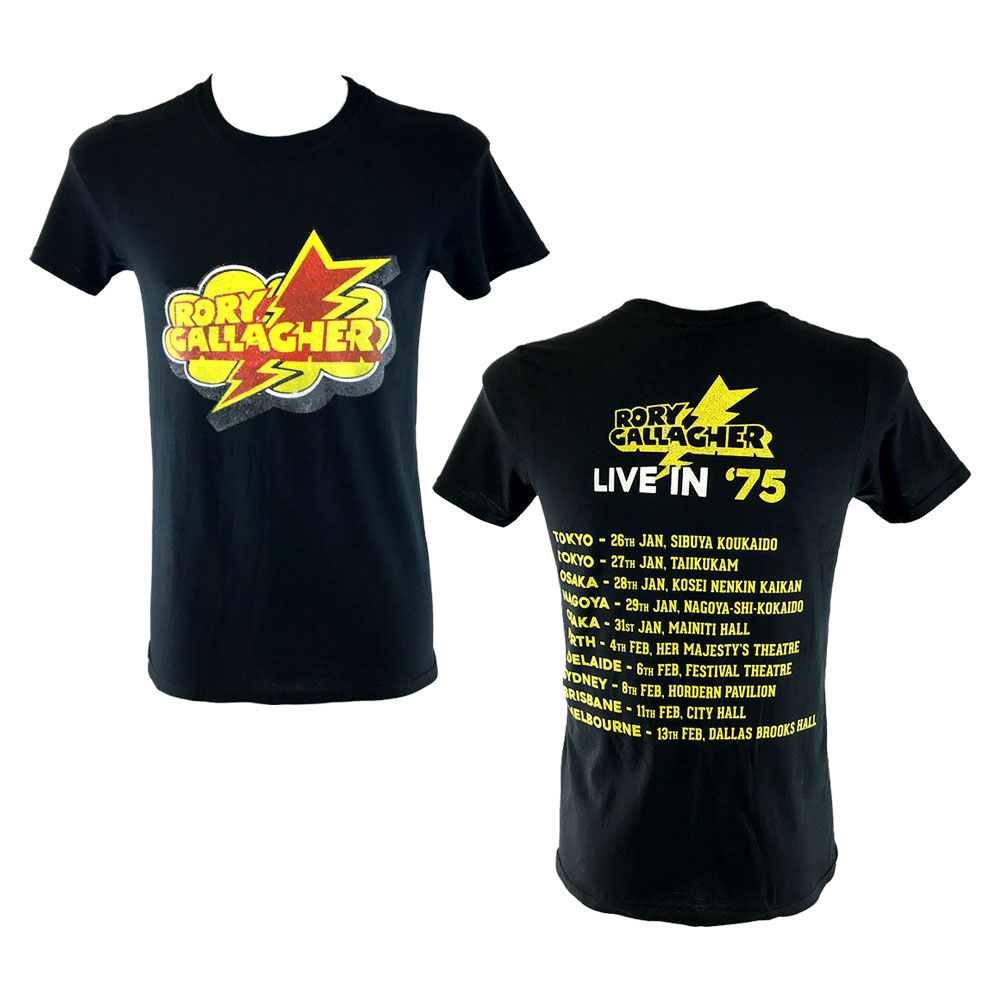 Rory Gallagher - Live In 1975 (Black)