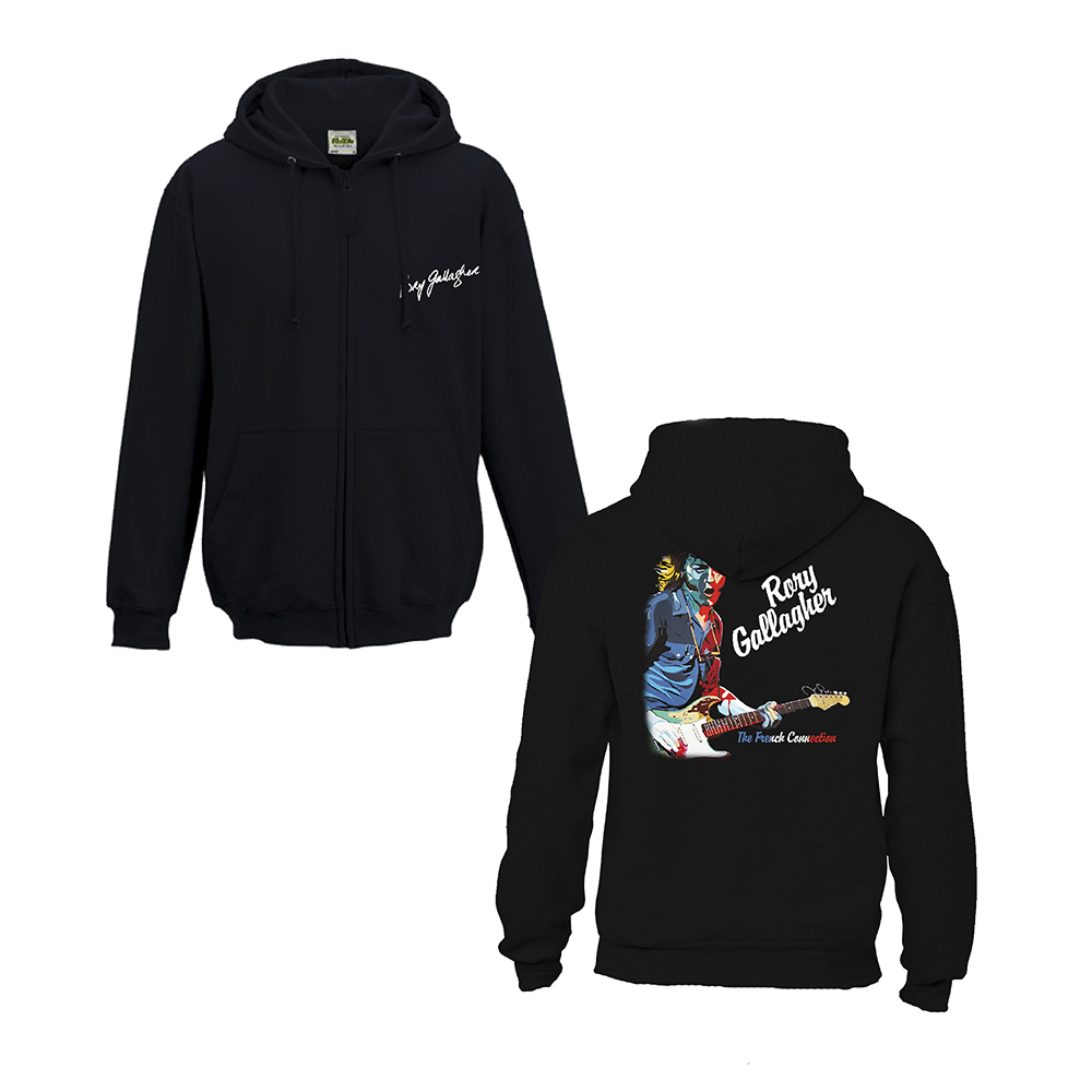 Rory Gallagher - French Connection (Zip Hoodie)