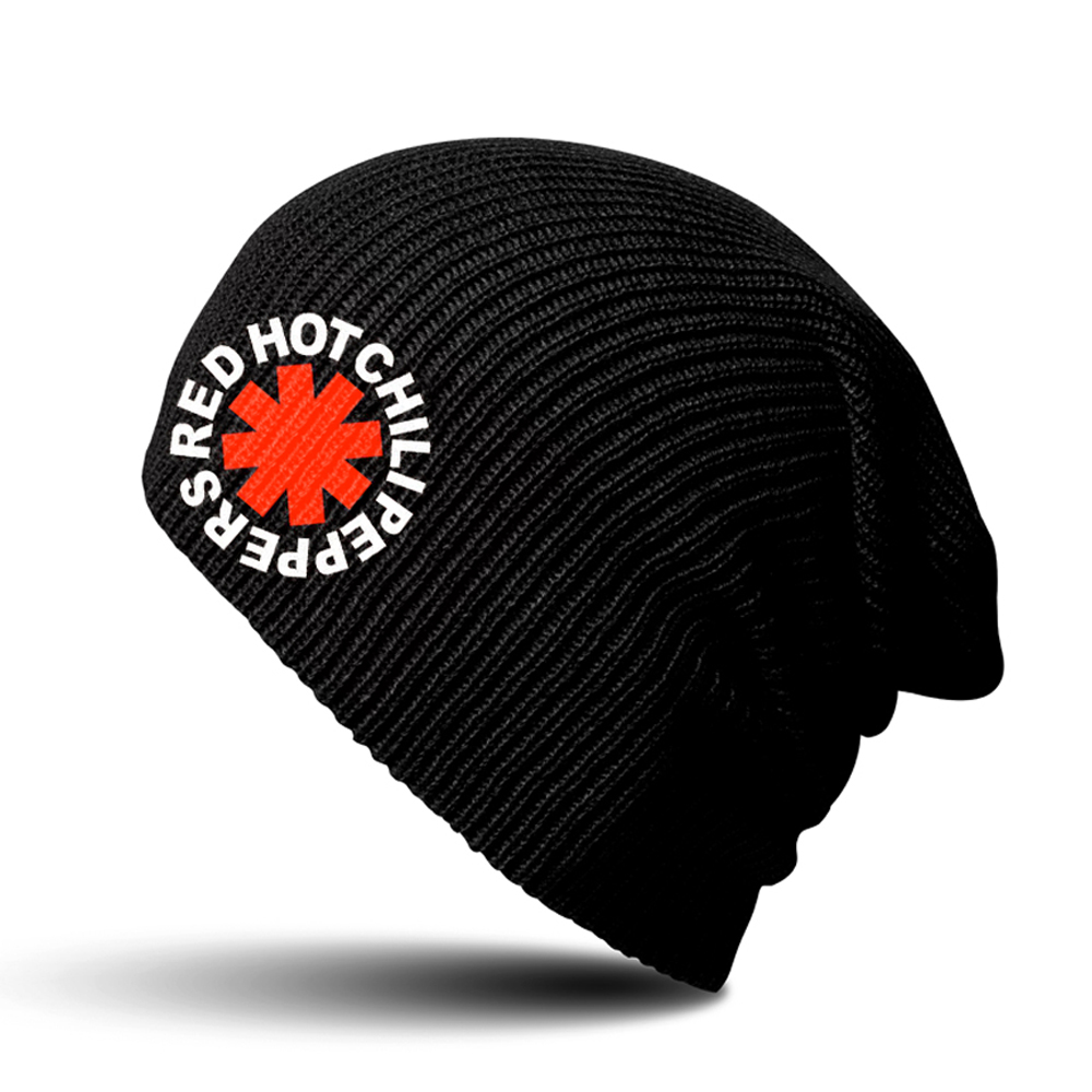 Red Hot Chili Peppers -  Asterisk Black Beanie