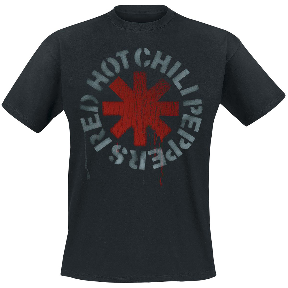 Red Hot Chili Peppers - Stencil (Black)
