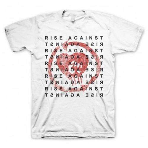 Rise Against - Block (White)