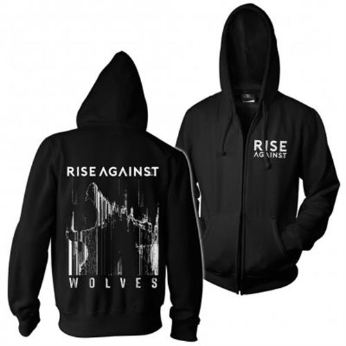 Rise Against - Wolves Pocket (Black)