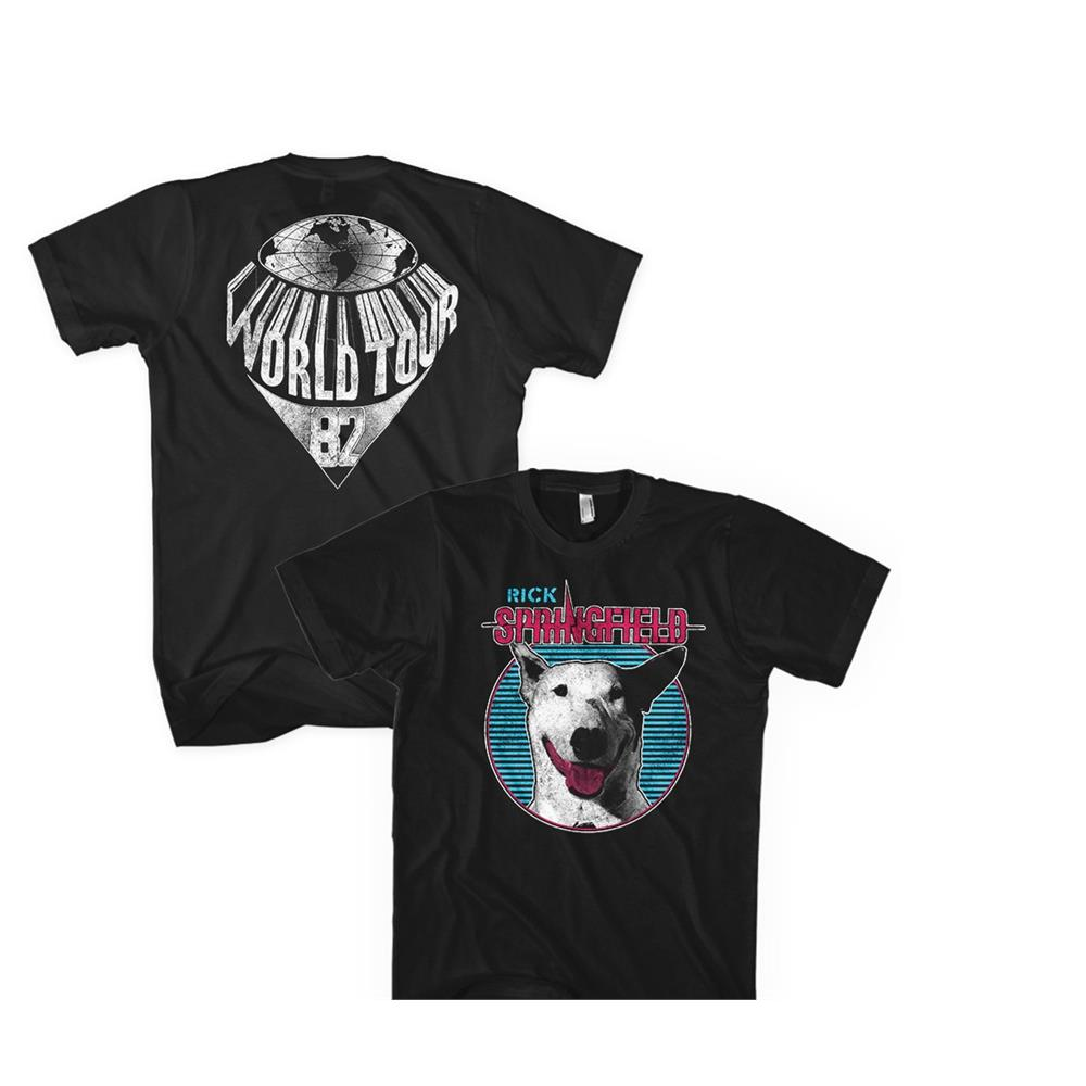 Rick Springfield - Dog Circle (Black)