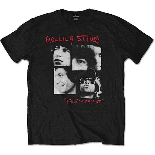 Rolling Stones - Photo Exile (Black)