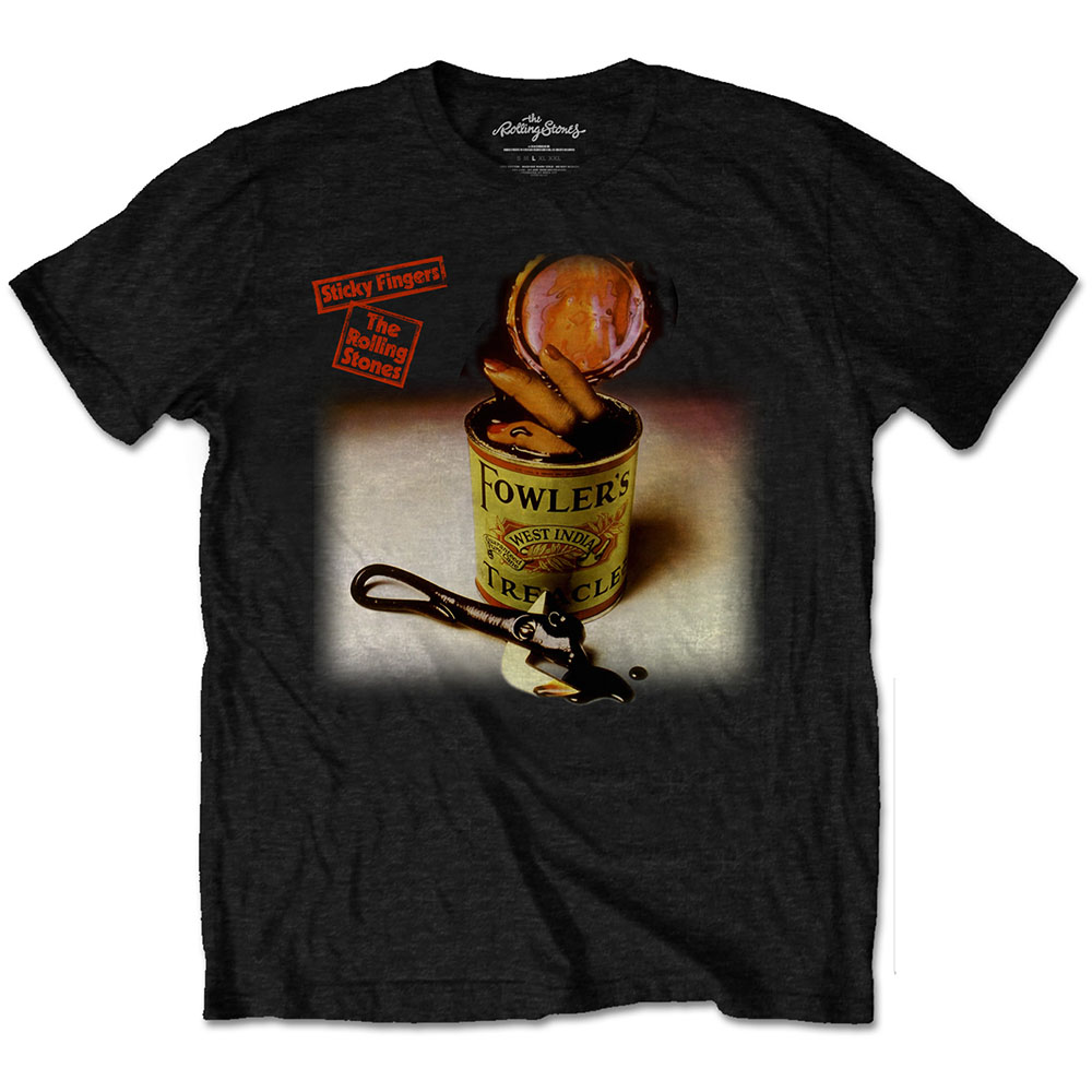 Rolling Stones - Sticky Fingers Treacle (Black)