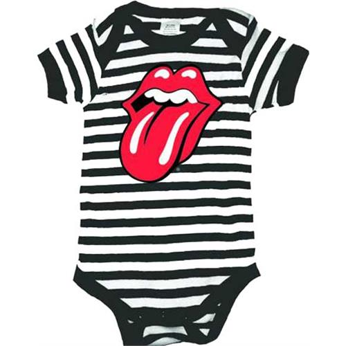 Rolling Stones - Red Tongue Logo (Black and white)