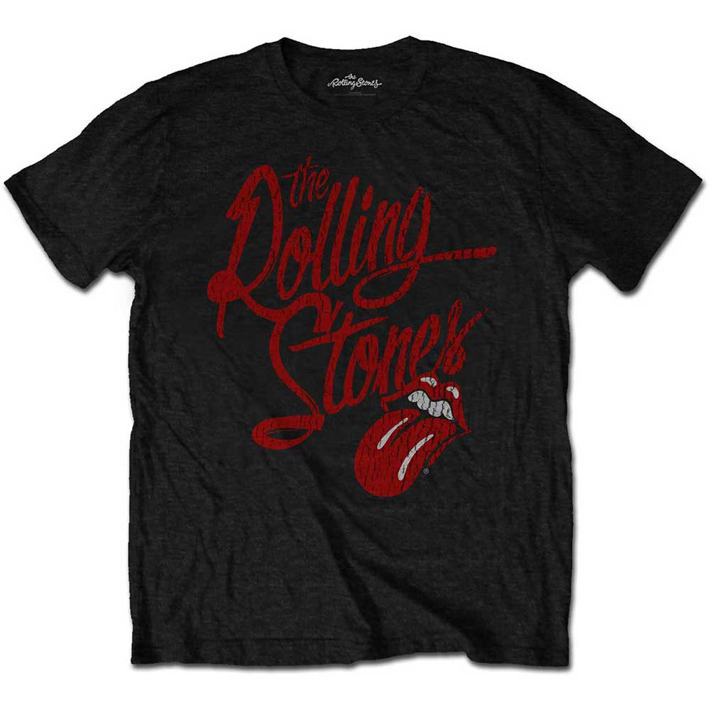 Rolling Stones - Script Logo (Soft-Hand Inks)