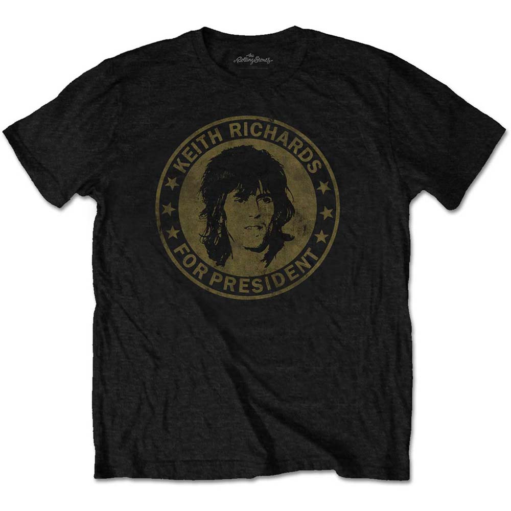 Rolling Stones - Keith for President (Black)