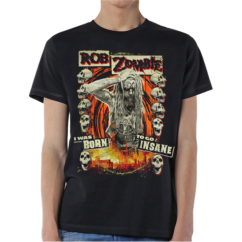 Rob Zombie - Born To Go Insane (Black)