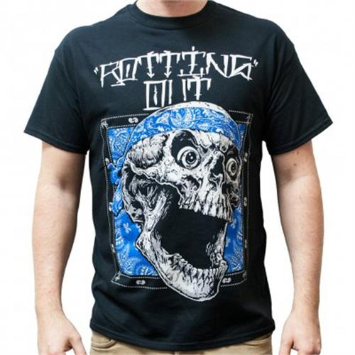 Rotting Out - Skull Bandana (Black)