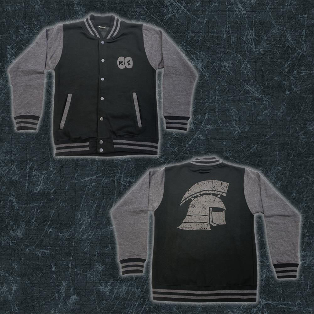 RuneScape - Ironman Varsity Jacket (Grey/Black)