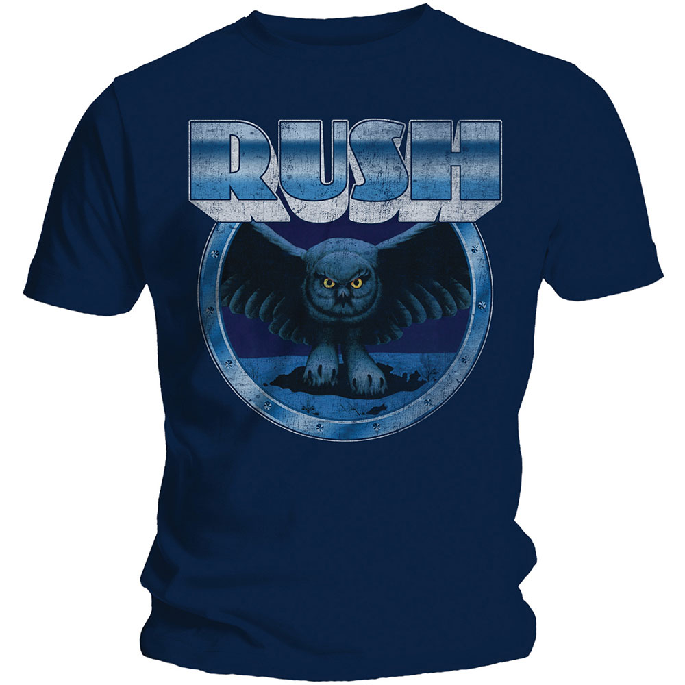 Rush - Fly By Night - Vignette (Navy)