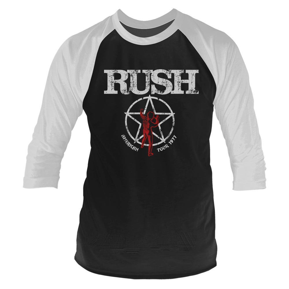 Rush - American Tour 1977 (Baseball Shirt)