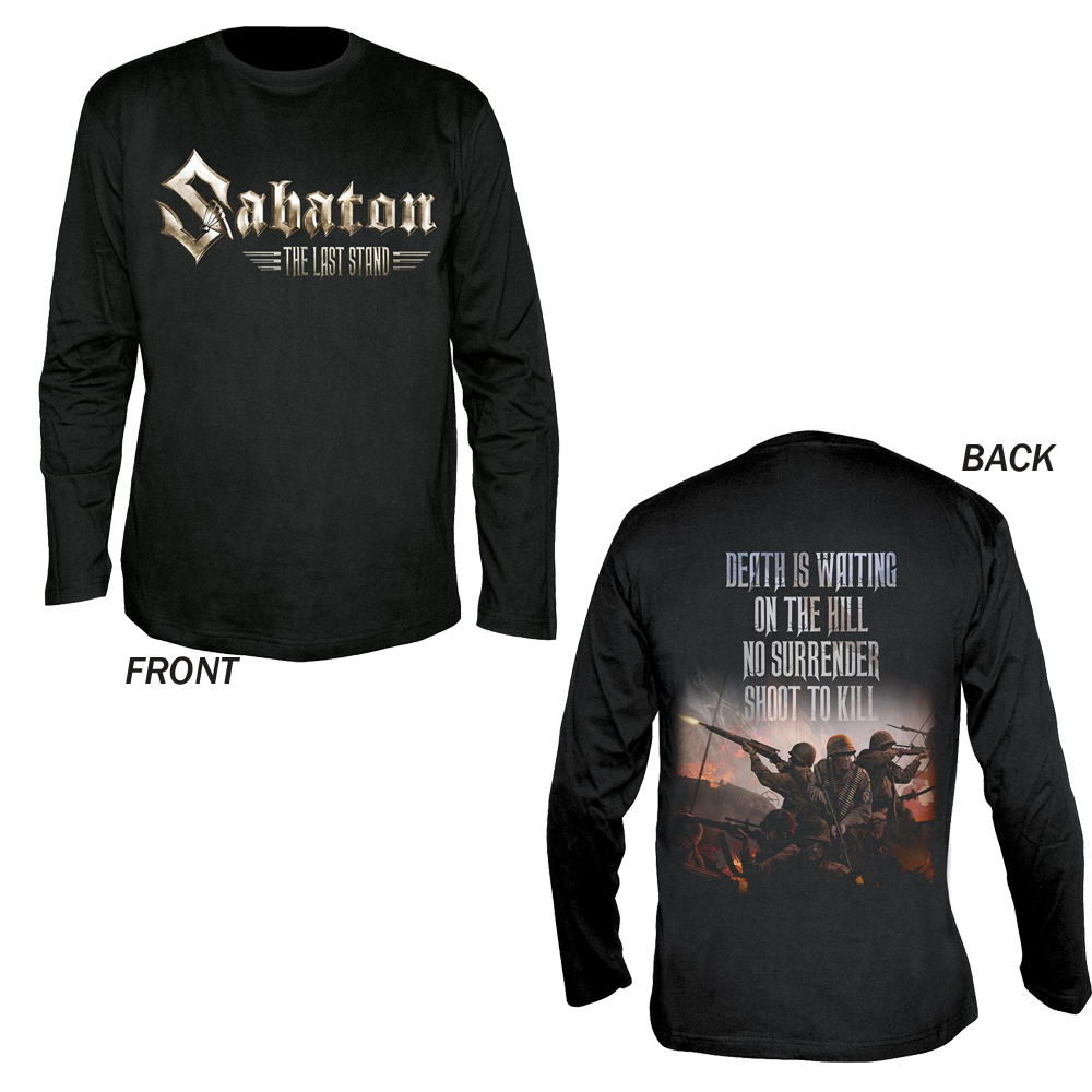 Sabaton - Shoot To Kill (Longsleeve)