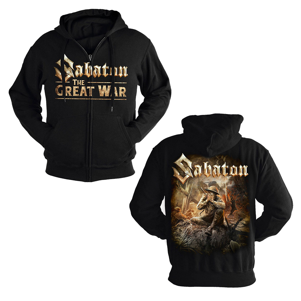 Sabaton - The Great War (Zip Hoodie)