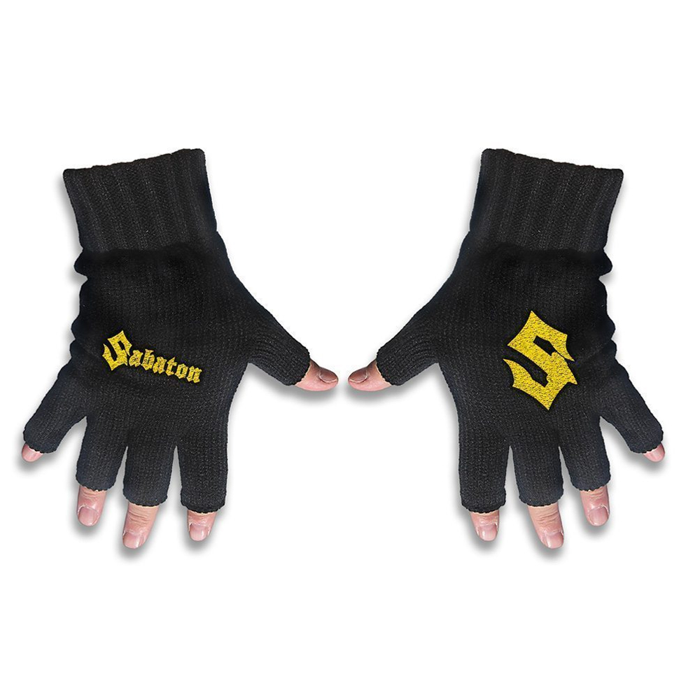 Sabaton - Logo (Embroidered Gloves)