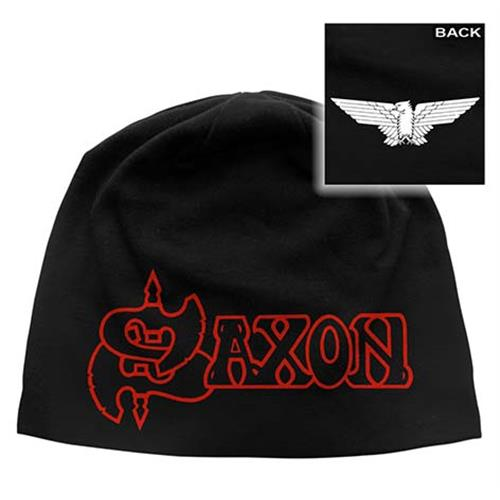 Saxon - Logo And Eagle (Black)