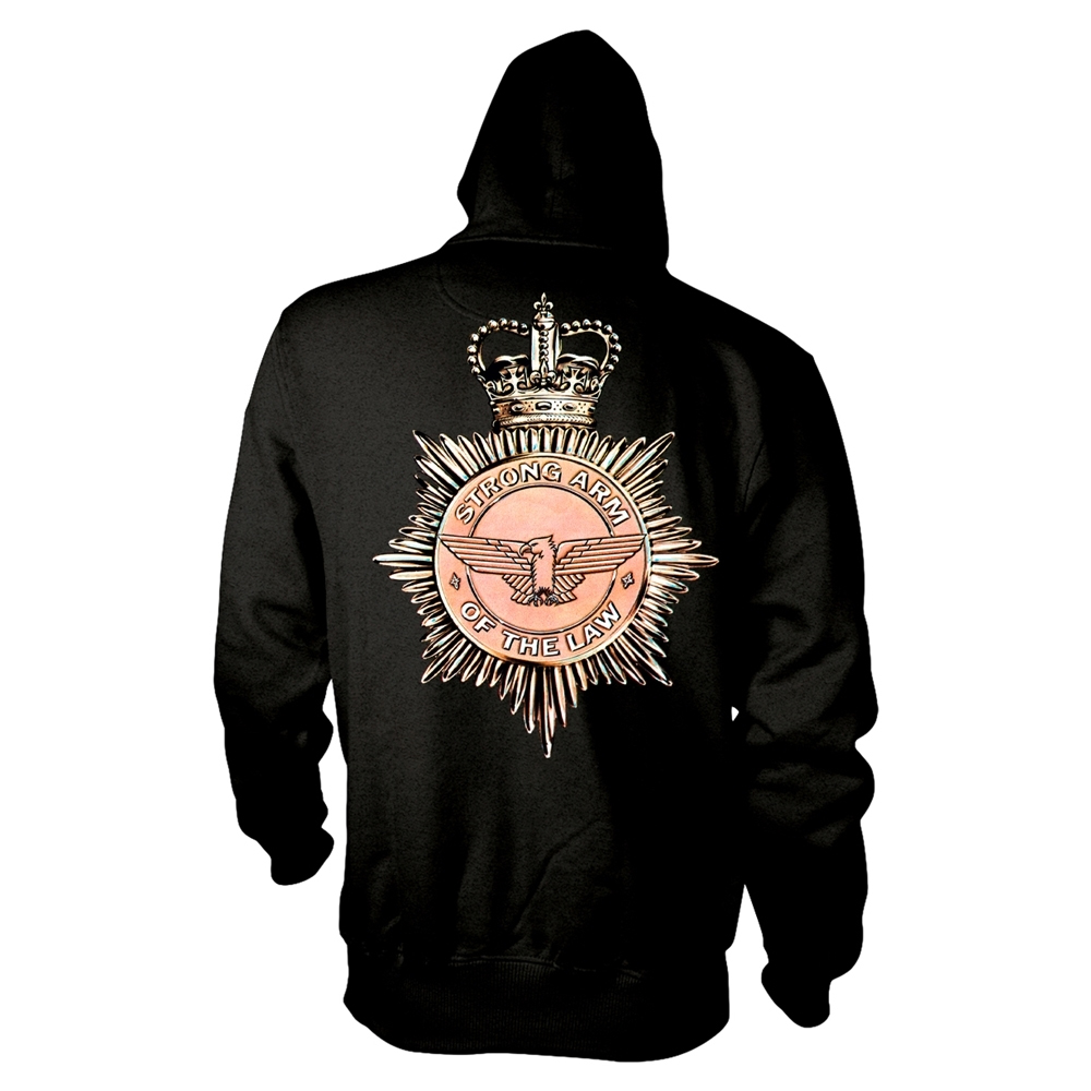 Saxon - Strong Arm Of The Law (Zip Hoodie)