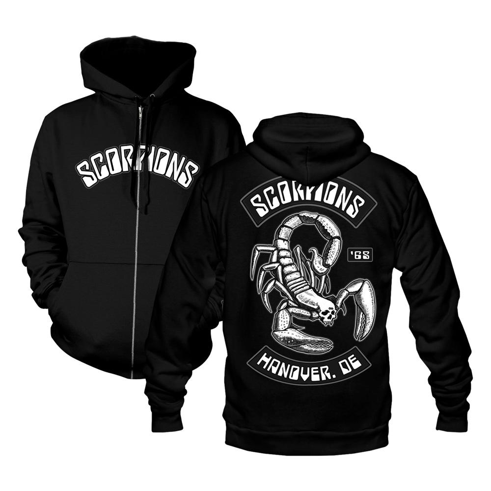 Scorpions - Scorpion And Rockers Zip Hoodie