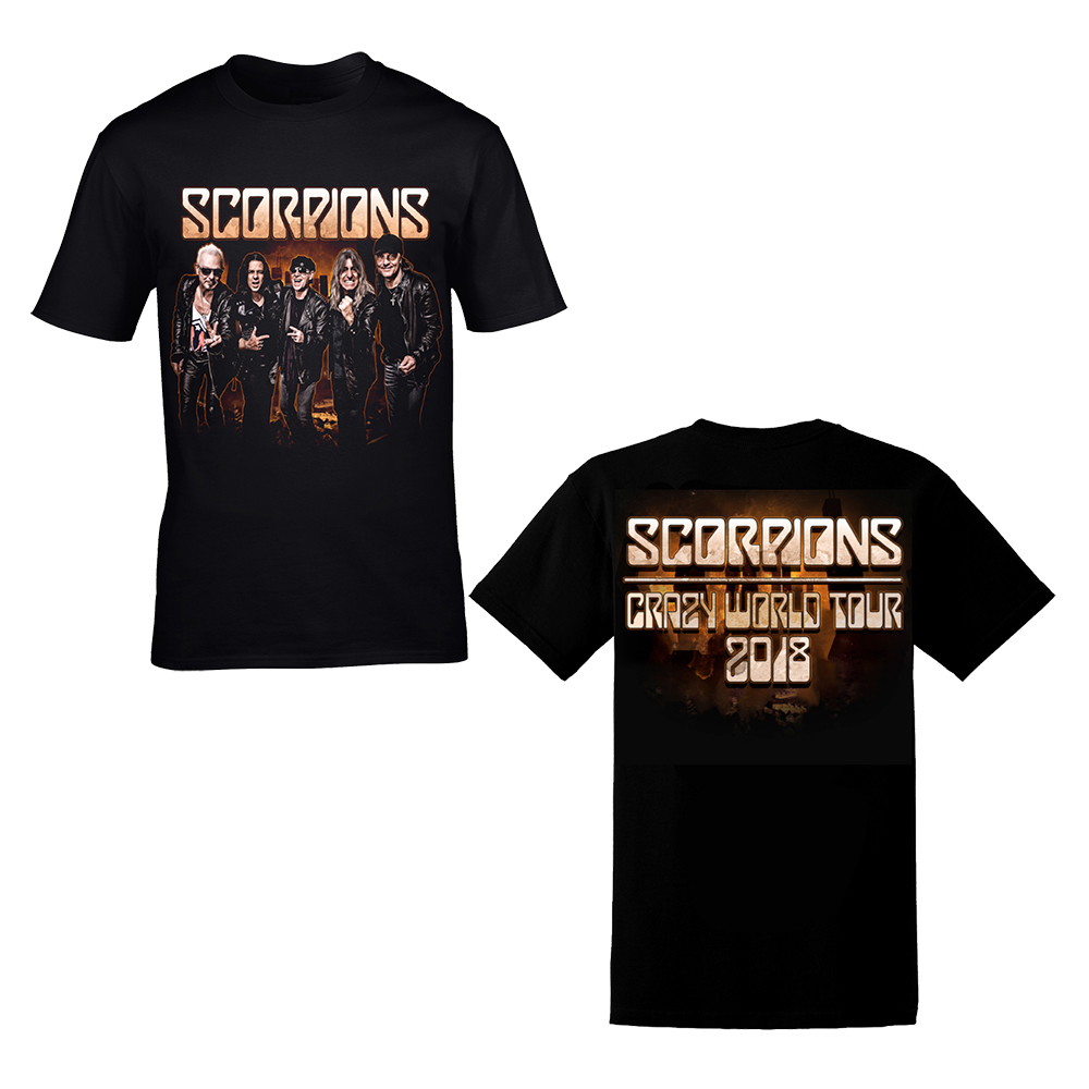 Scorpions - City Band Photo Dateback