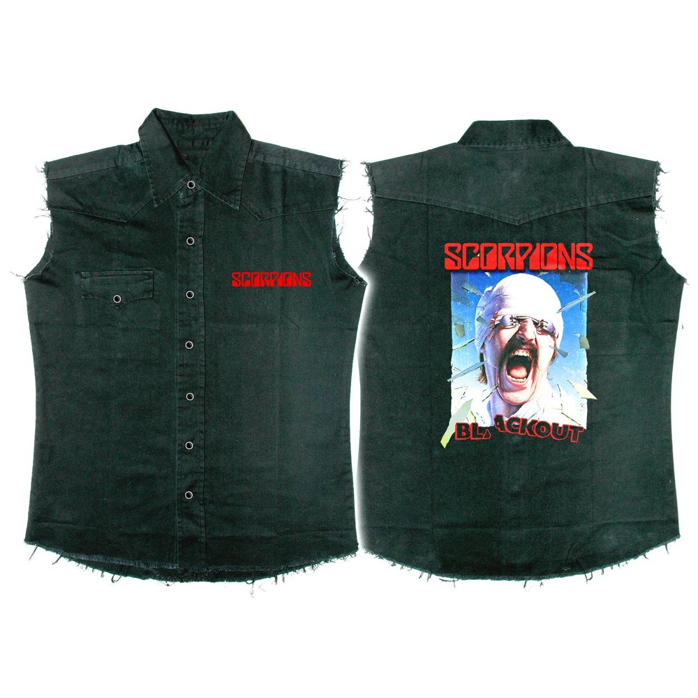 Scorpions - Blackout (Work Shirt)