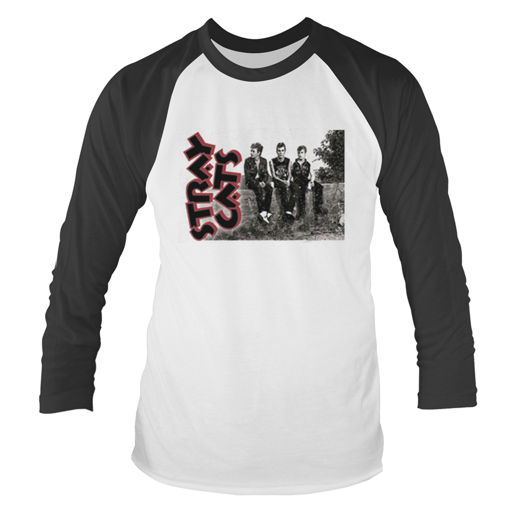 Stray Cats - Band Photo (Baseball Shirt)