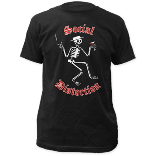 Social Distortion - Skelly Logo (Black)